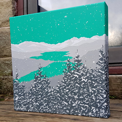 Winter over Loch Garry