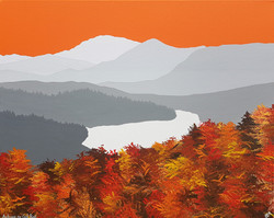 SOLD Autumn on Ord ban