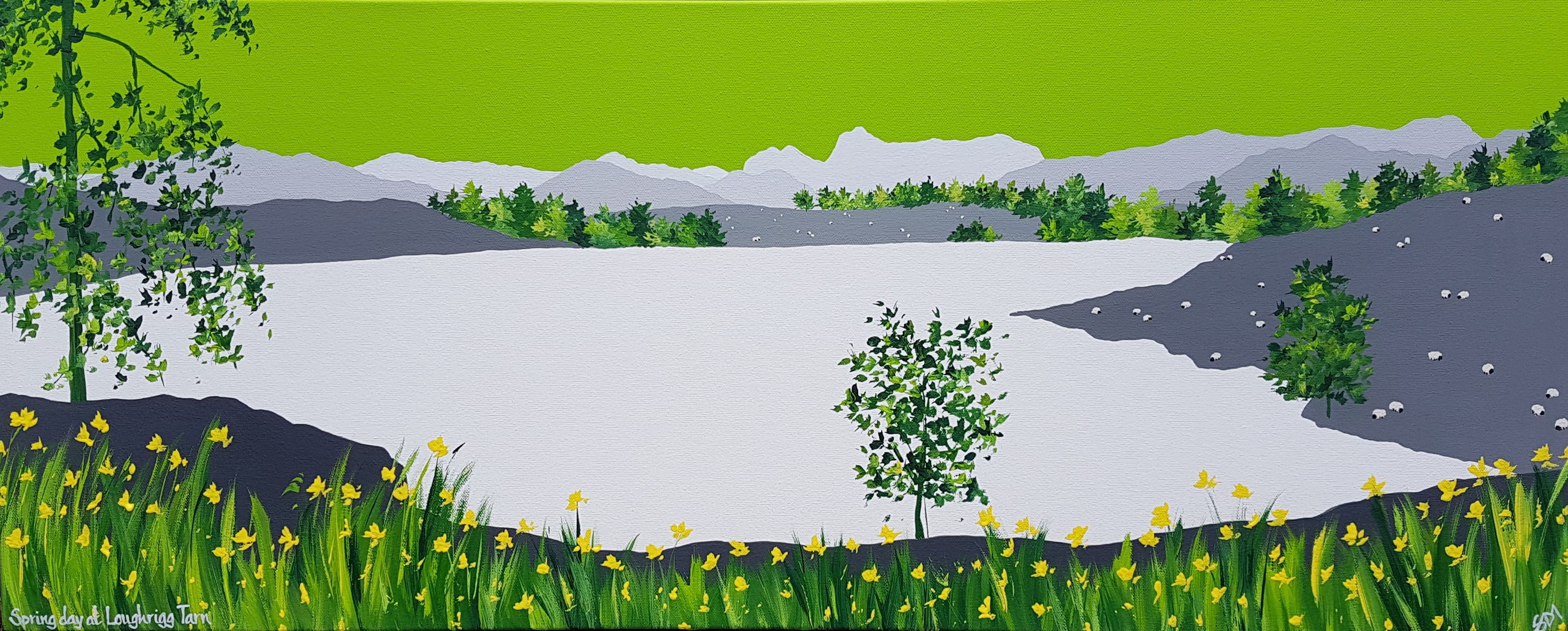SOLD Spring at Loughrigg Tarn