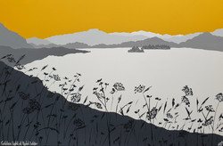 SOLD Golden light at Rydal Water