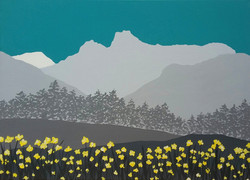 SOLD Langdale Pikes in Spring