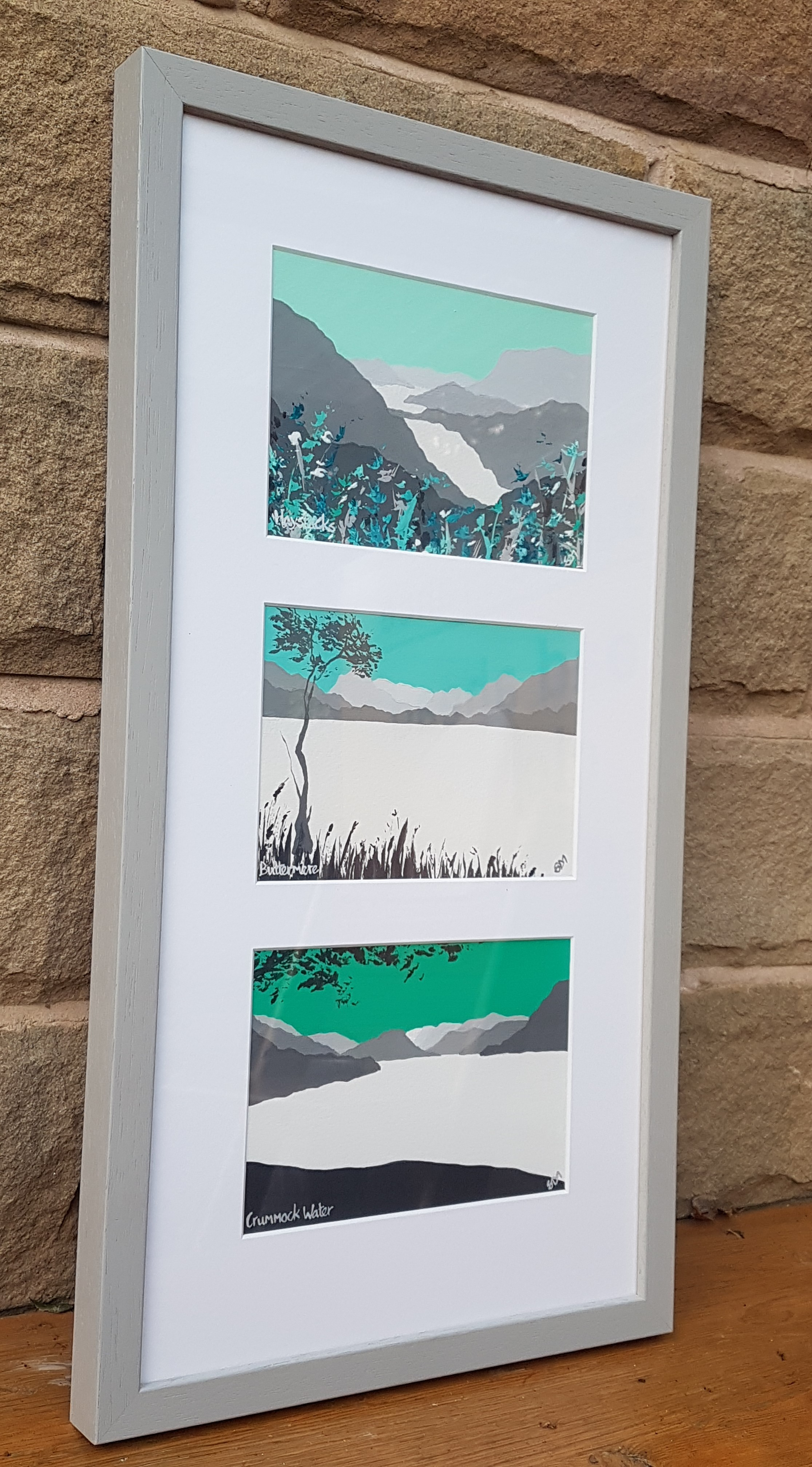 SOLD Scenes from Buttermere & Crumm