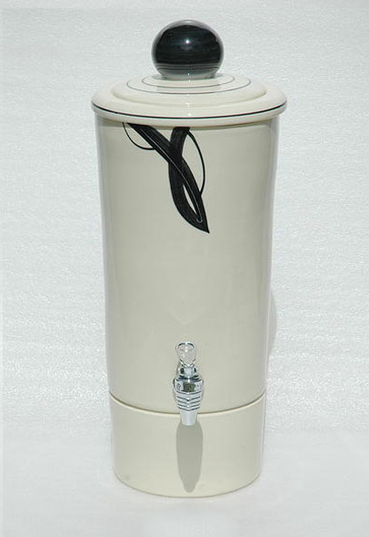 Black Aqua-urn Water Filter - Aquadome W