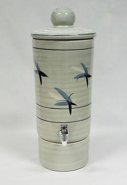 Grey Blue Black Aqua-urn Water Filter -