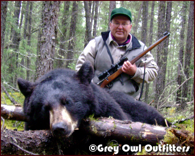 Guided Black Bear Hunt in Manitoba -