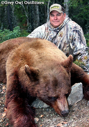 Bear Hunting Trips in Manitoba - Grey Owl Outfitters