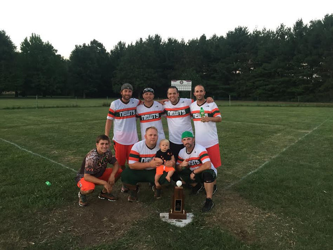 Newts win their 3rd ORWBL World Series after sweeping Maple City!