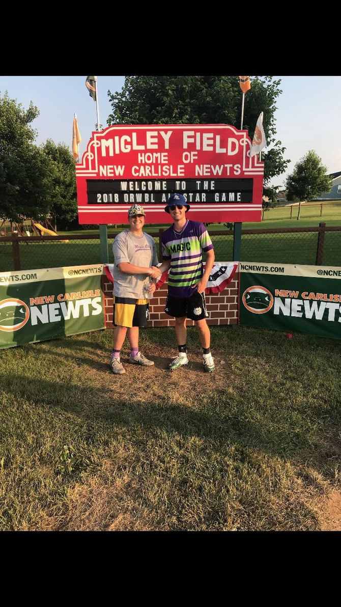 Maple City's Jared Jonkman wins 2018 ORWBL Home Run Derby