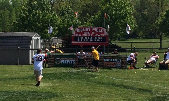 Newts take 2 from South Bend in Migley Field Opener.
