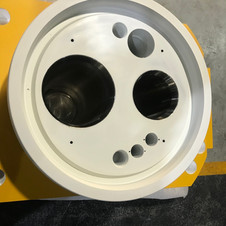 Finished component  - Yellow paint  - 2.