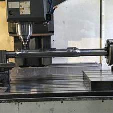 Gauge Carrier  - Vertical milling on 4 t