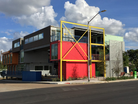 Connex Shipping Container Office and Retail Park