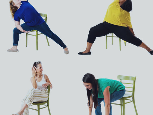 Engage and Energize Your Body: A Chair Yoga Sequence