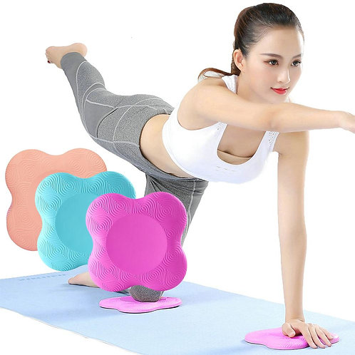 2 Pcs/Pack Yoga Knee Pad Silicone Kneeling Support