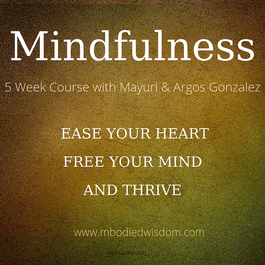 Find Calm, Connection and Clarity with Mindfulness (5 week series)