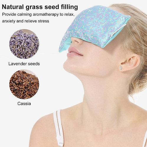 Lavender Aromatherapy Silk Eye Pillow