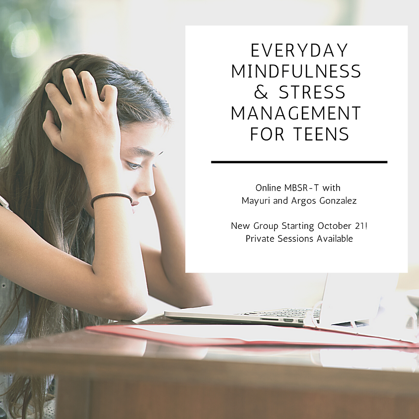 Mindfulness Based Stress Reduction Teens