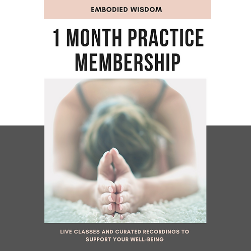 One Month Well-Being Membership (single month gift)