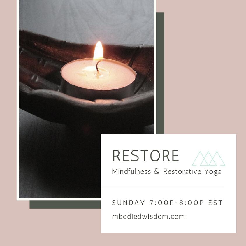 RESTORE: Mindfulness and Restorative Kundalini Practices (guest instructor Ishtar Gonzalez)