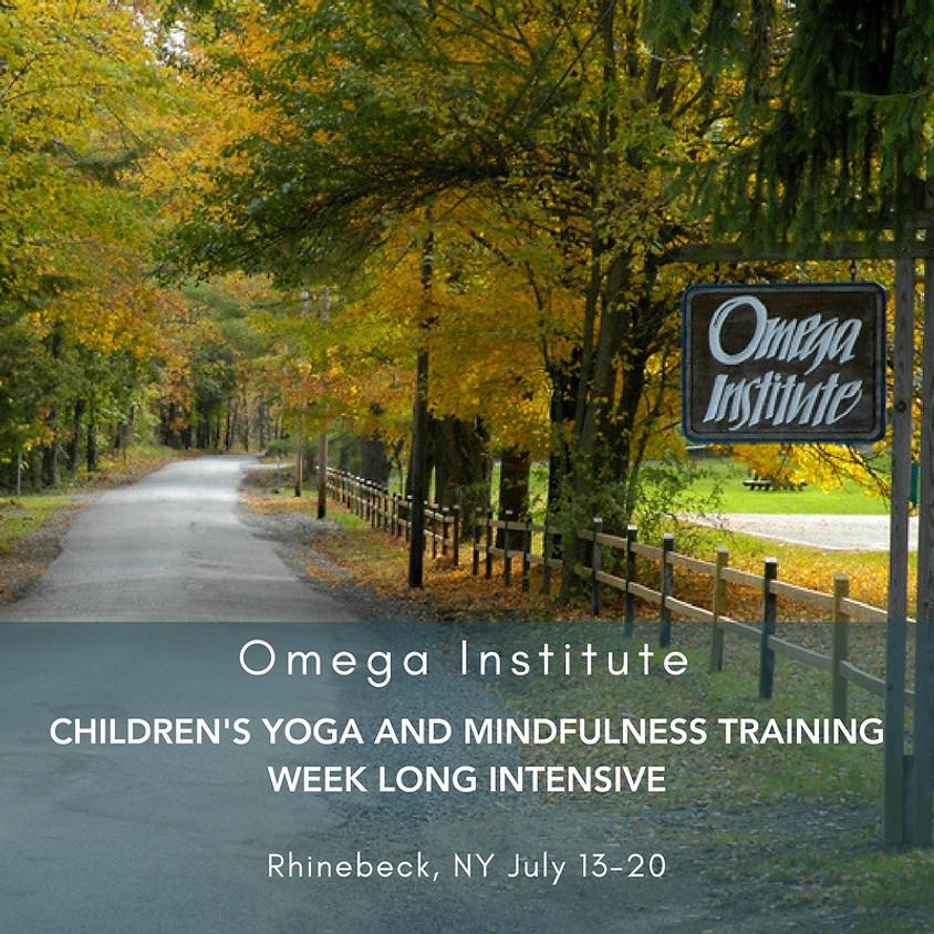 Week Long Training Intensive: Omega Institute 2018