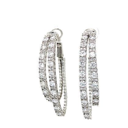Double Ovals earrings