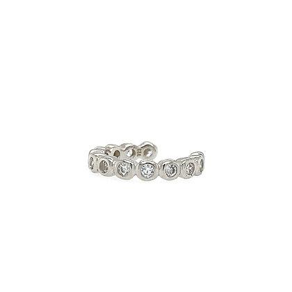 mini diamond pave ear cuffs