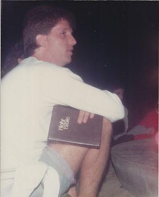 Louie teaching Youth at beach 1989.jpg