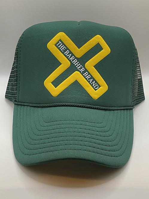 Green & Yellow Trucker
