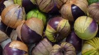 Purple Tomatillos