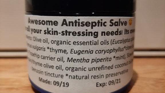Awesome Antiseptic Salve