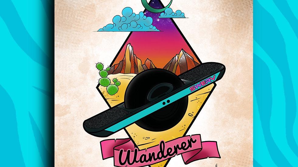 Wanderer 8x10 print