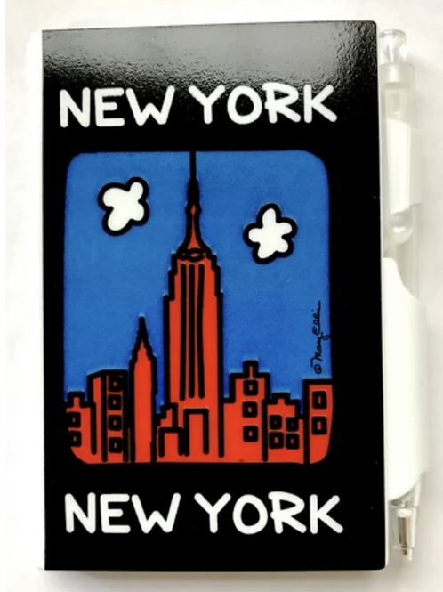 NY mini note & pen