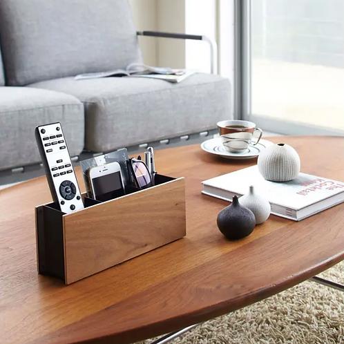 Yamazaki Home-Brown Rin Living Room Organizer