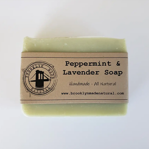 Peppermint Lavender Soap Brooklyn NY