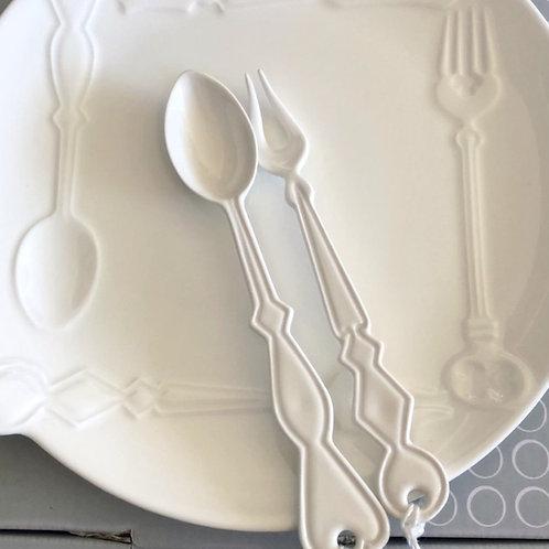 Cutlery - Dessert Spoon, Fork