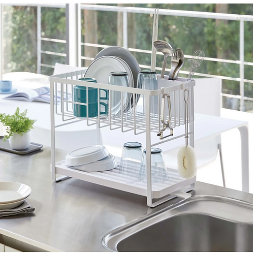 Yamazaki Home - Two-tier Customizable Dish Rack
