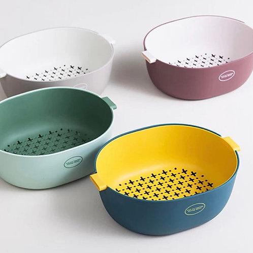 Fruit Washing Drain Basket (4options)