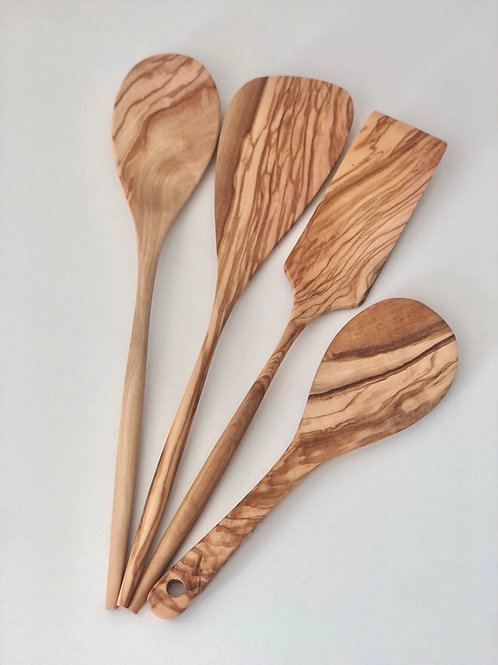 Olive Wood Kitchen Essentials