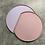 Thumbnail: Half Moon Non Slip Pastel Tray
