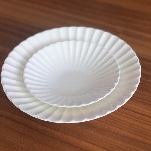 Moire Blanc Frill Bowl