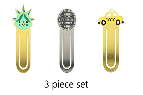 NYC Bookmark 3piece set