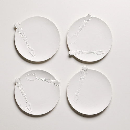 Cutlery - Set of Two 7 inch plates