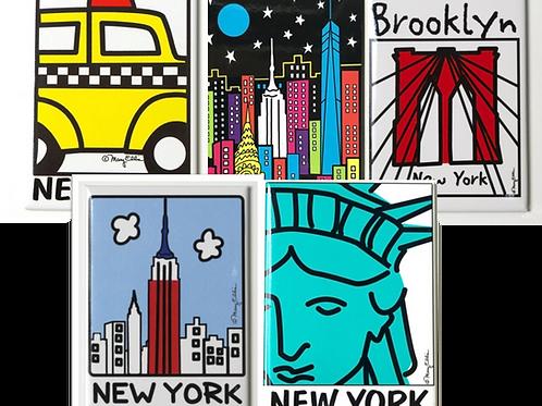 NY Magnets set