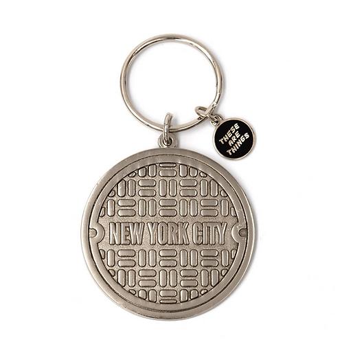 NYC Enamel Keychain (3 options)