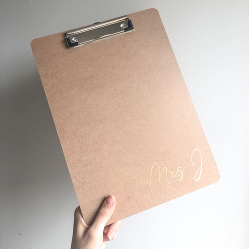 personalised clipboard