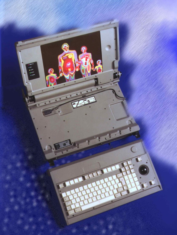 Rugged laptop computer