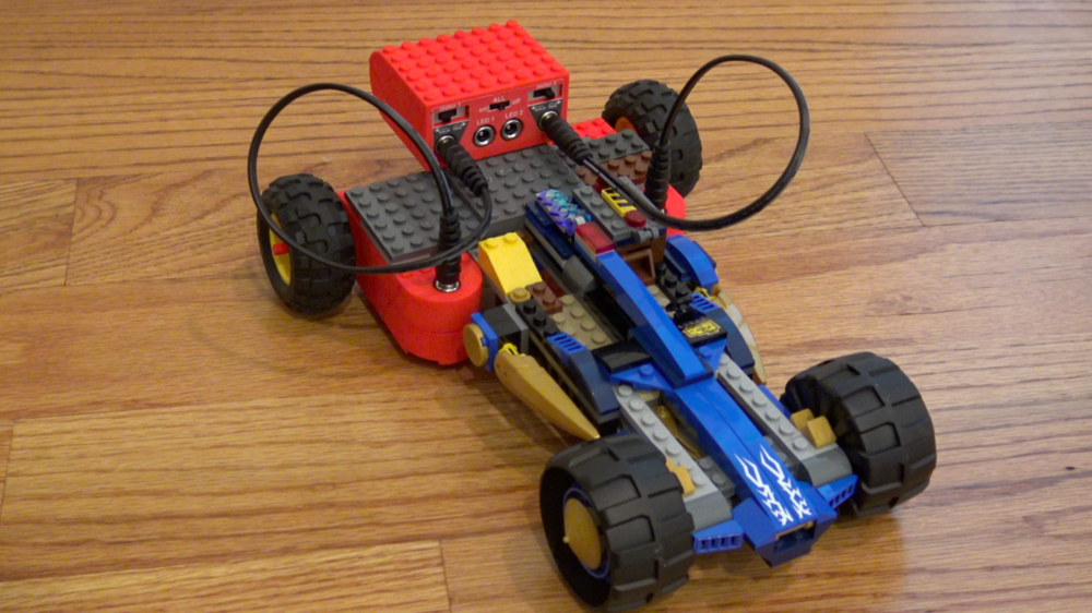 using LEGO parts