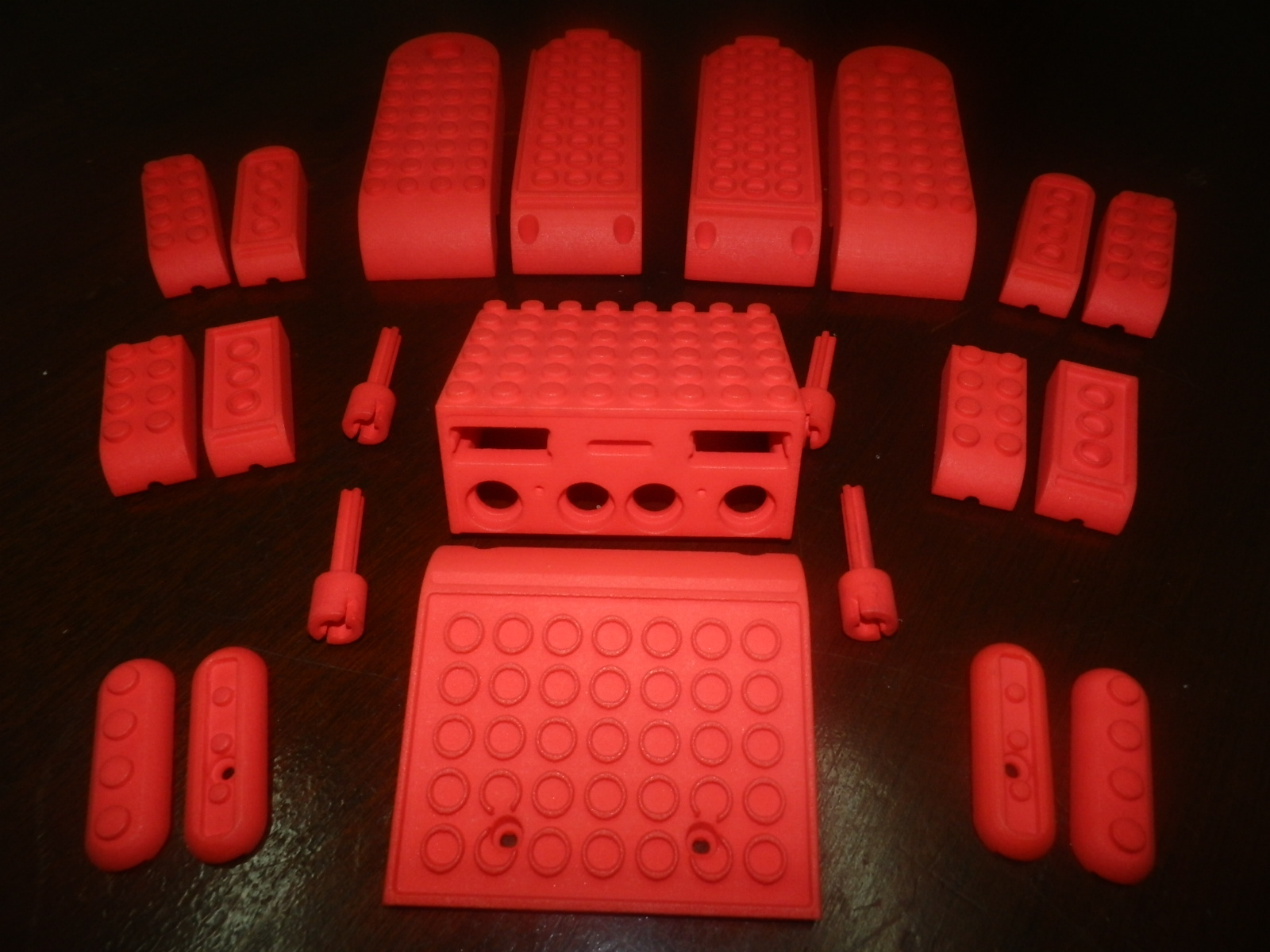 3D printed prototype parts