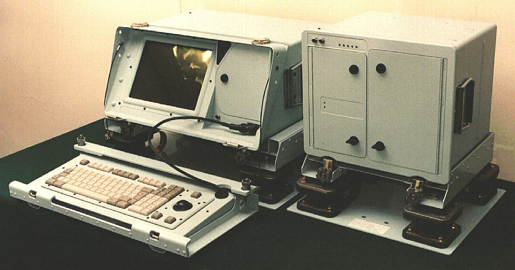 Royal Navy ship computer