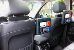 in-car display